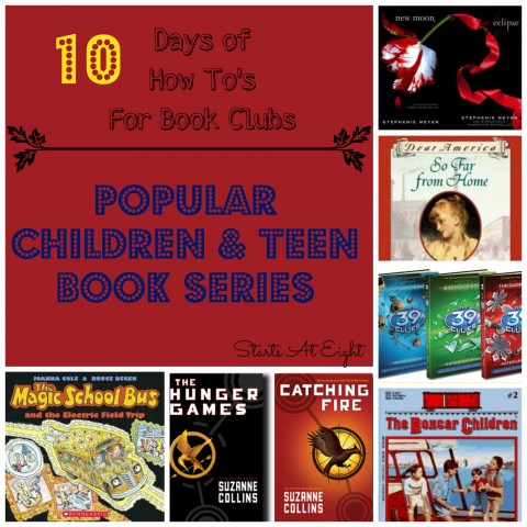 The How To's For Book Clubs: Popular Children & Teen Book ...