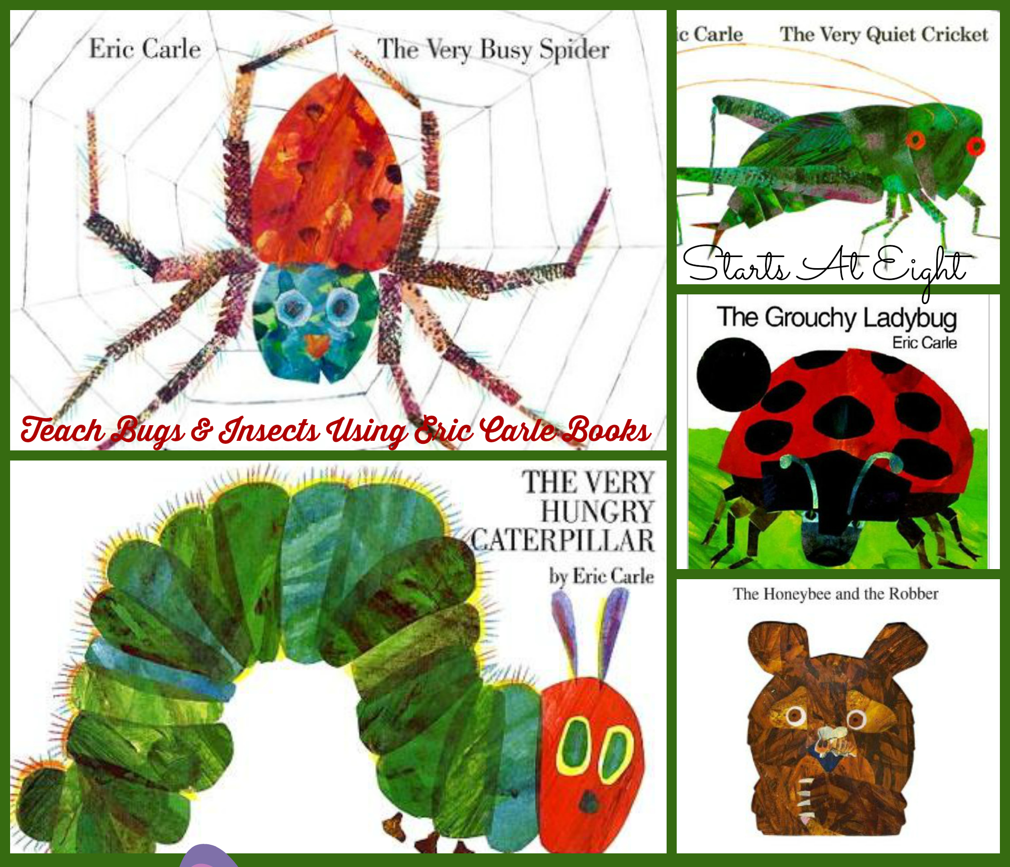 Eric Carle The Honeybee And Robbet Math Worksheet Eric