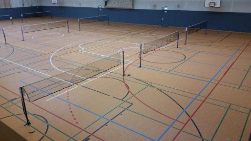 Sommerferien 2017 - Hallenzeiten - Badmintonhalle - Hamburg-Harburg