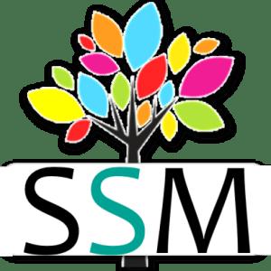 Start Small Media logo with SSSM 512 x 512