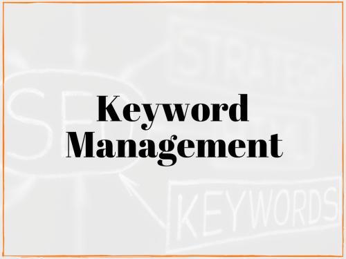 keyword management service local seo website keywords