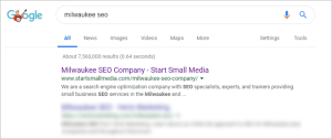 Milwaukee seo Wisconsin company specialist optimize expert search results
