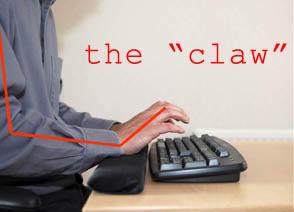 improper typing position