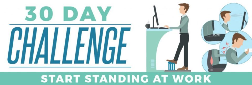 30 day standing at work challenge