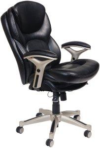 Serta back in motion ergonomic chair for lower back pain