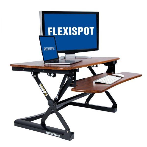 Best Standing Desk Converter: Flexispot M2B