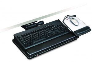Best High End Keyboard Tray: 3M with Easy-Adjust feature