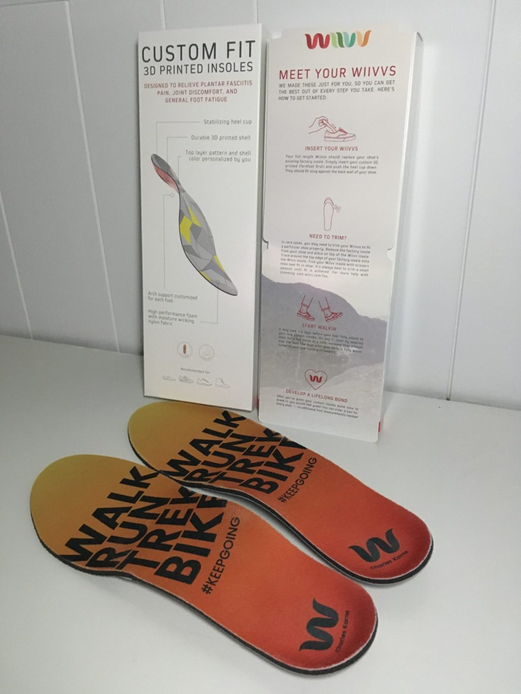 Insoles and Packaging 1 - Wiivv Insoles Review