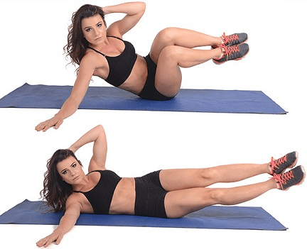 Oblique Side Bends - Exercises that cause back pain