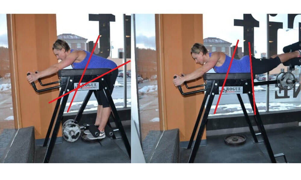 Reverse Hypers - Exercises that cause back pain