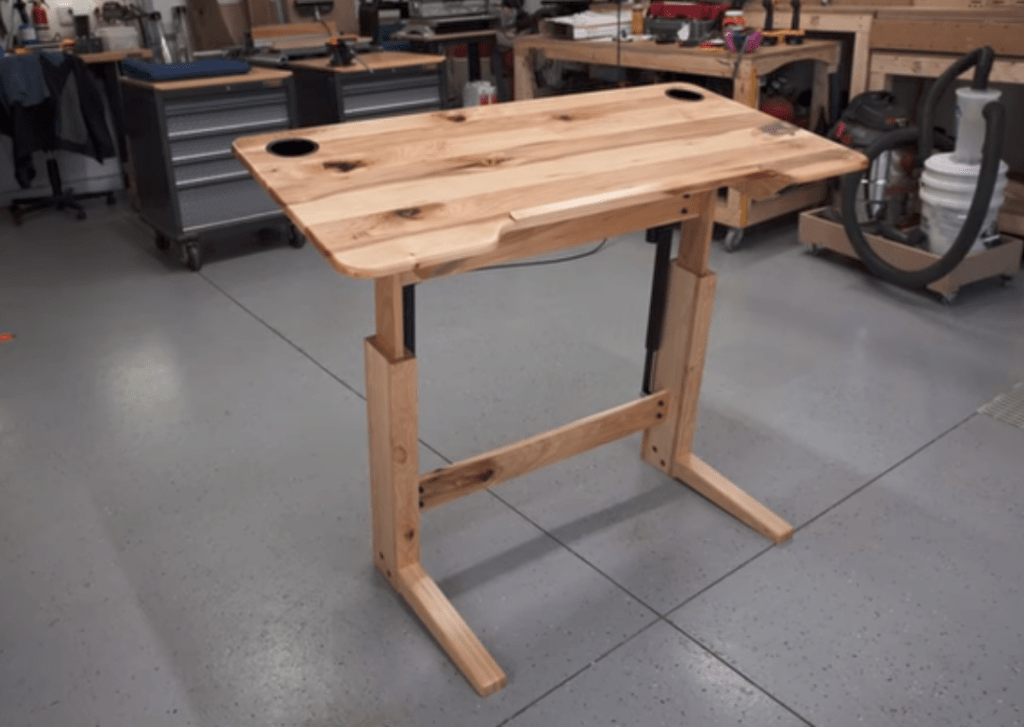 the complete guide to diy standing desks start standing rh startstanding org diy sit stand desk frame diy sit stand desk frame