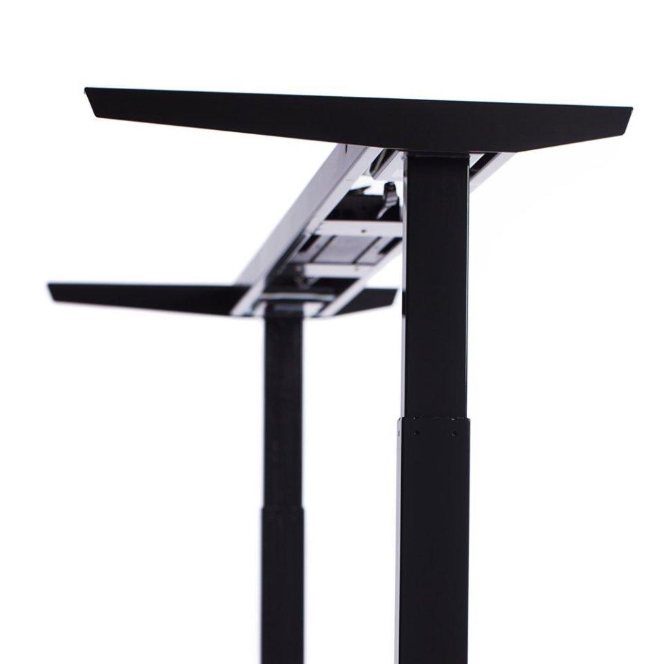 ApexDesk Elite Standing Desk - Black Frame Detail