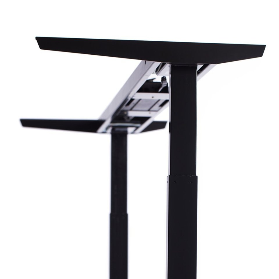 ApexDesk Elite Standing Desk - Black Frame Detail
