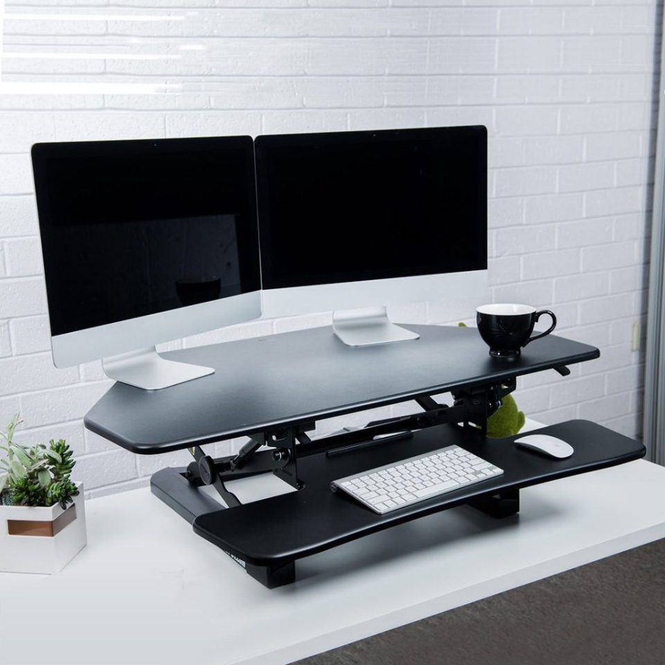 Prime The Best Standing Desk Converters Of 2019 Start Standing Download Free Architecture Designs Grimeyleaguecom