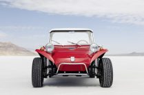 This beach buggy called Meyers Manx has been developed in the 19