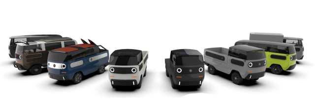 EBussy je modulárne elektrické vozidlo s dojazdom až 600 kilometrov