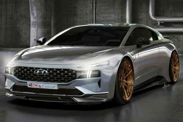 Športové a seriózne vozidlo v podaní Hyundai? Aj takto môže vyzerať
