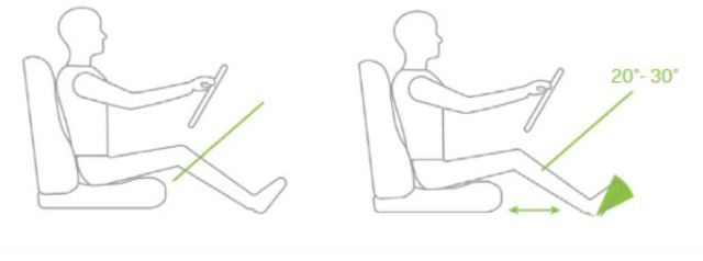 Chyby, ktoré robíme počas jazdy: Aká je vaša pozícia v aute?