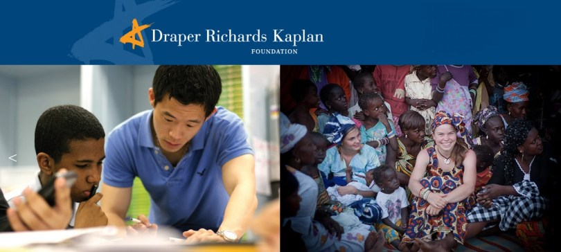 Draper Richards Kaplan Foundation Social Entrepreneurship Fellowship StartupDotPk
