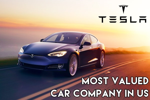 Tesla becomes most valued car company in us - Startup Archive