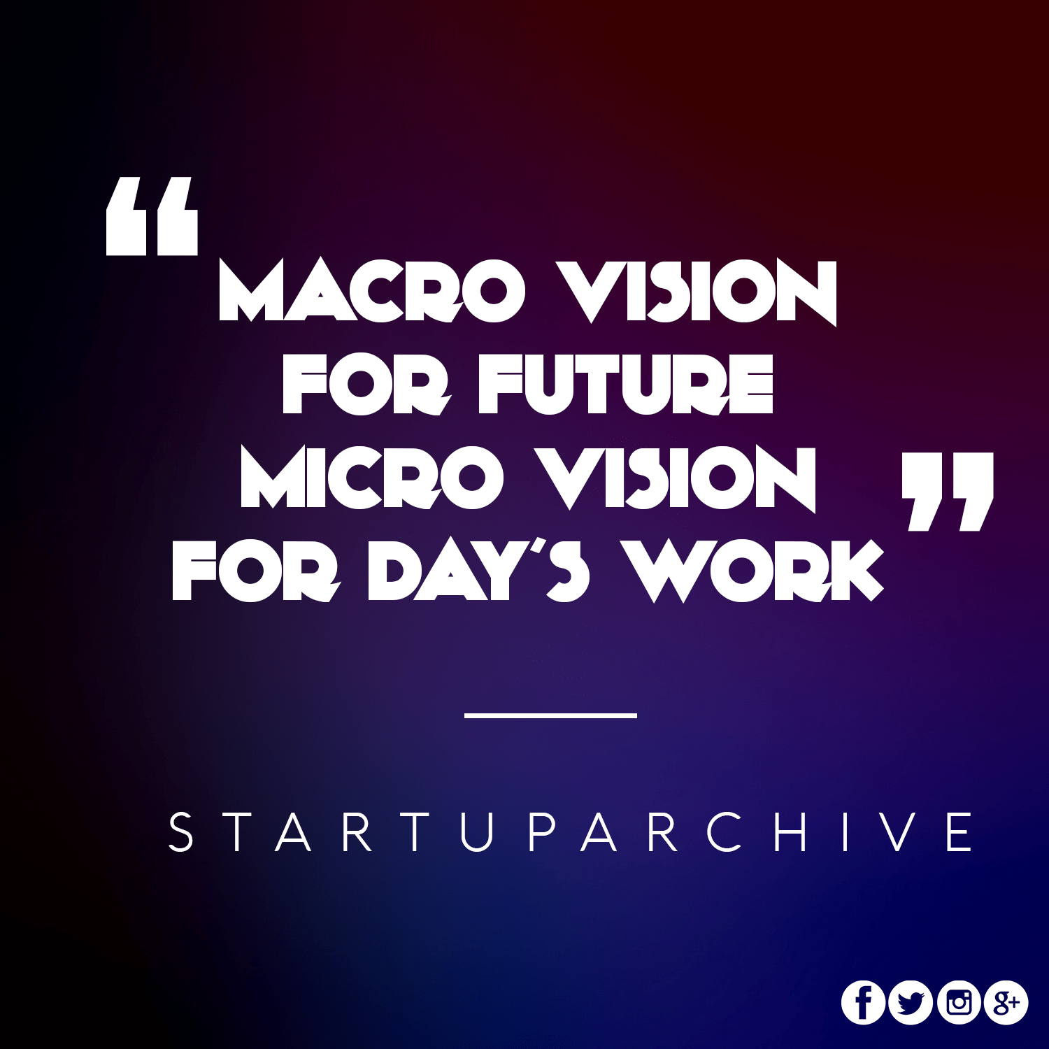 Micro Vision for Future and Micro for Day to Day Tsasks - Startup Archive