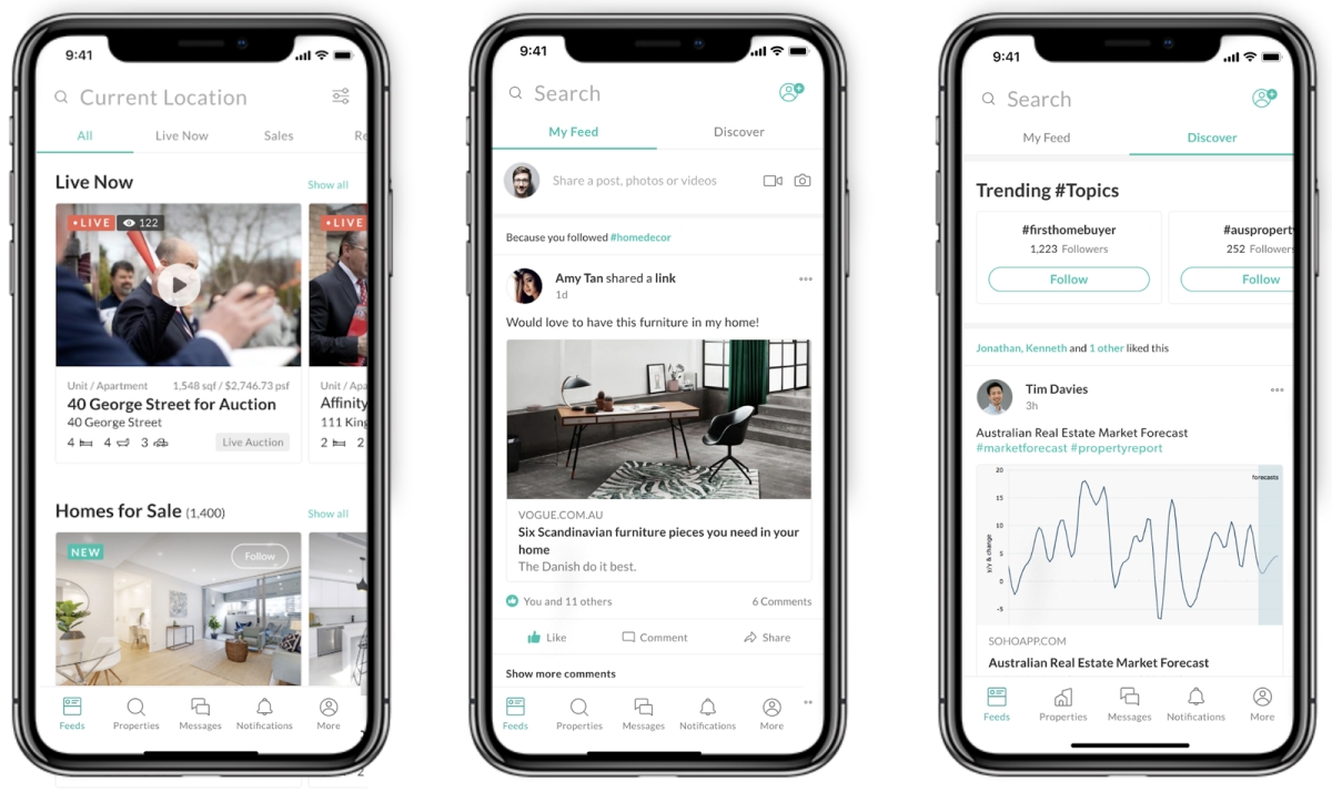 An Airtasker founder is taking on property sales with an app he's