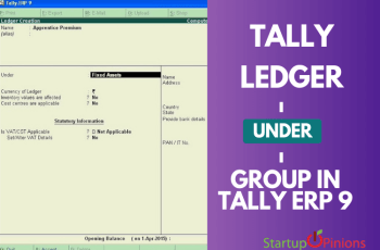 tally ledger