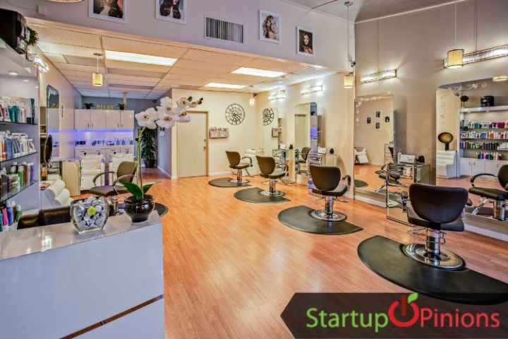 spa and salon business