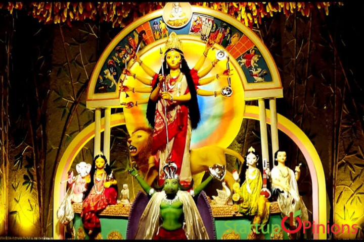 Durga Puja in South Kolkata