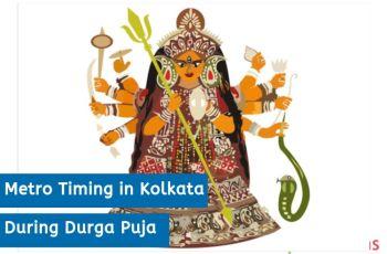Metro Timing in Kolkata During Durga Puja
