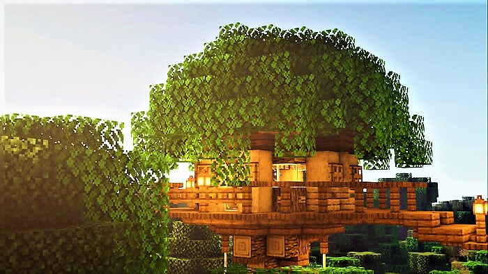 Minecraft Treehouse