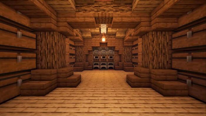 Minecraft Storage Room