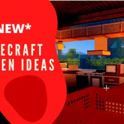 minecraft kitchen decorating ideas