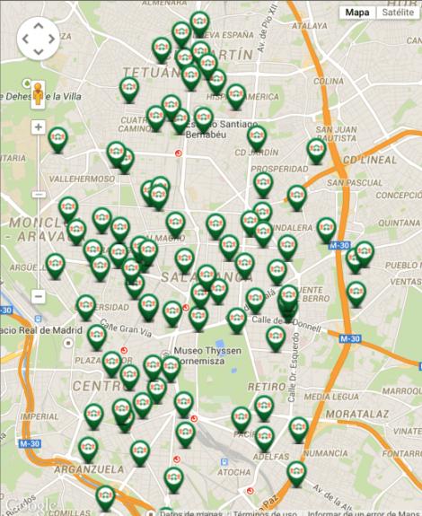 mapa parkings respiro - startups-españolas.es