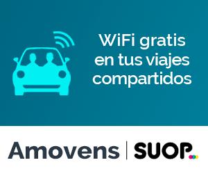WiFi gratis en los viajes  en coche