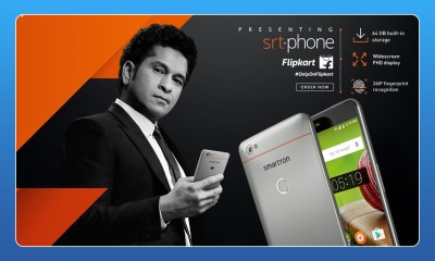 SACHIN TENDULKAR SMARTRON SRT.PHONE LAUNCHED TODAY KNOW ITS FEATURES,Startup Stories,Startup Stories India,Inspiration Stories,2017 Most Read Startup Stories,#Smartronsrtphone,SMARTRON Specifications,Sachin Ramesh Tendulkar,Smartron Features