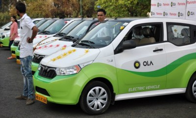 Ola Launching 100000 Electric Vehicles In Next 12 Months,Startup Stories,2018 Latest Business News,Startup News India,Ola Launch Electric Vehicles,Mission Electric Program,Electric Cabs Vehicle,Ola Introduce Electric Three Wheelers,Ola Business News,Ola Cab Electric Vehicles