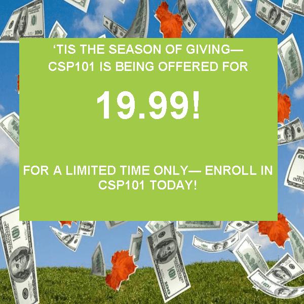CSP 101 Sale