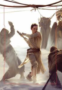 Rey in Niima Outpost - door Brian Rood