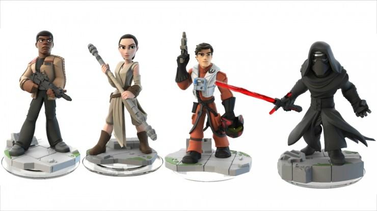Disney Infinity Star Wars figuren.