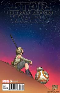 Force Awakens #1 Quesada variant