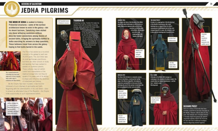 Rogue One Visual Guide - Jedha Pilgrims Pagina's