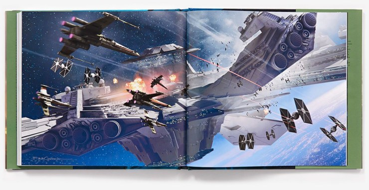 The Art of Rogue One - Battle of Scarif Pagina