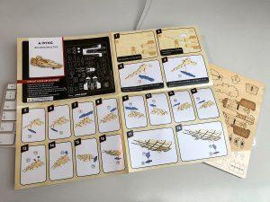 De A-wing instructies.
