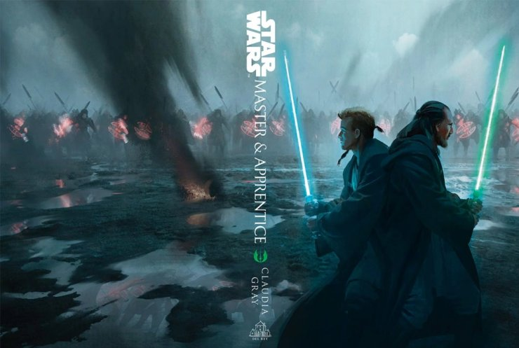 De Exclusieve Star Wars Celebration Cicago cover van Master & Apprentice