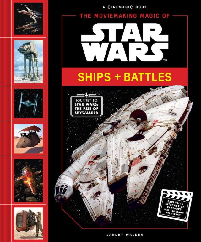 71v8ENxx1UL 849x1024 Out Today: The Moviemaking Magic of Star Wars Ships and Battles
