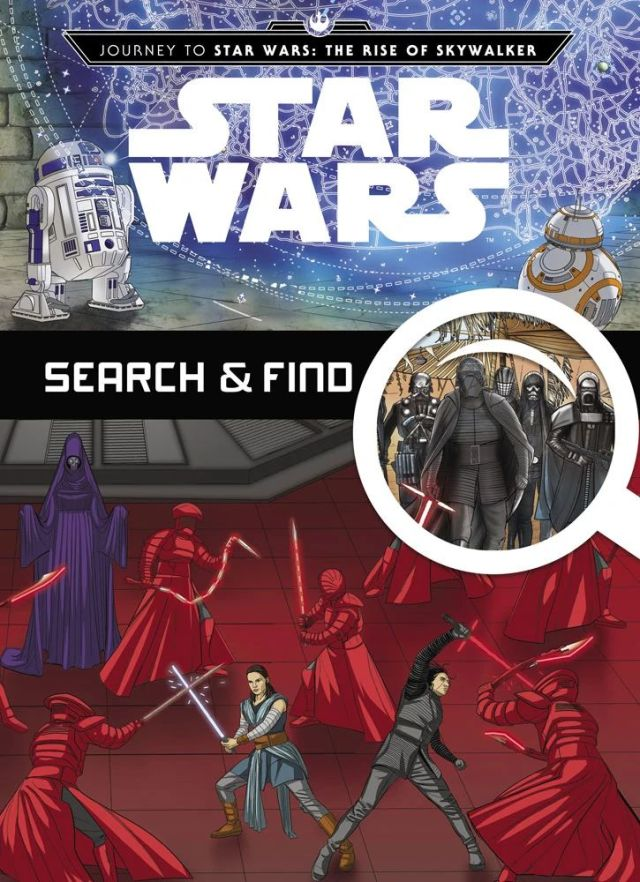 JtSWTROS SearchFindCover Out Today: Journey to Star Wars: The Rise of Skywalker Search & Find