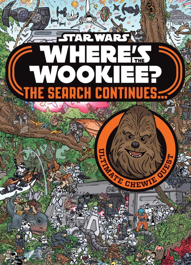 91WLj2Ti yL 740x1024 Out Today: Star Wars: Where's the Wookiee? The Search Continues…