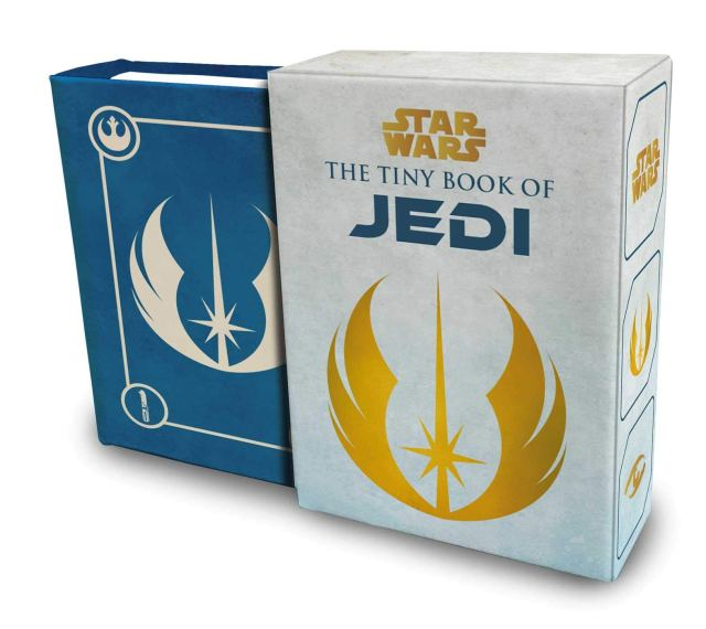 61MVbqT6SHL 1024x912 Out Today: Star Wars: The Tiny Book of Jedi: Wisdom from the Light Side of the Force
