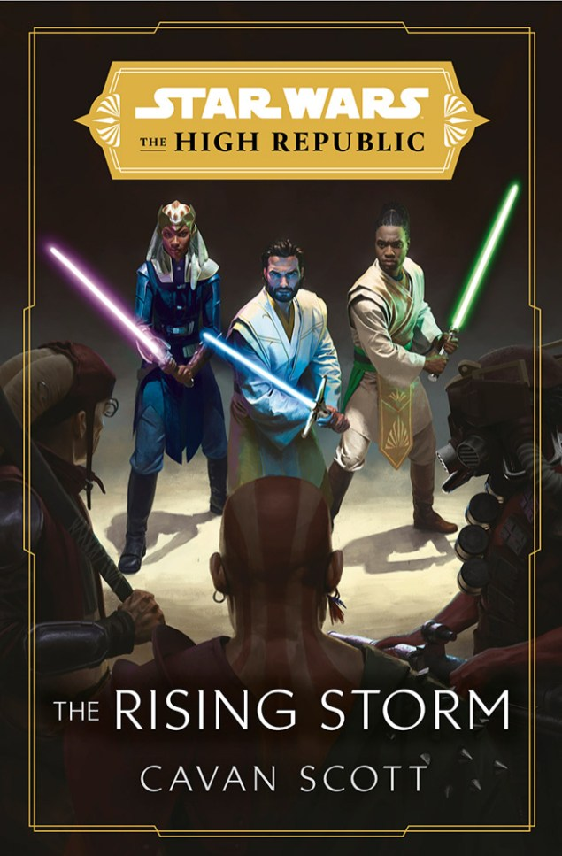 See the Cover Art for Star Wars: The High Republic: The Rising Storm   Exclusive Reveal | StarWars.com
